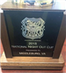 2015 National Night Out Cup Trophy Plaque