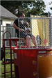 Officer Putnam in the Dunk Tank
